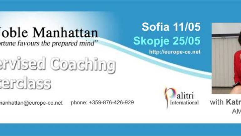 Skopje Coaching Masterclass with Supervision and Mentoring